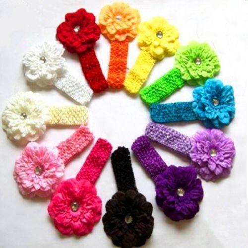 bebé niño infantil flor diadema lazo banda accesorios para