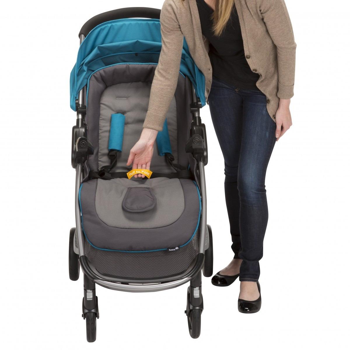 Coche para bebe con silla para auto step and go azul for Coches con silla para bebe