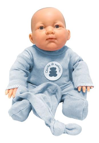 bebe real reborn bebote con osito y gorrito