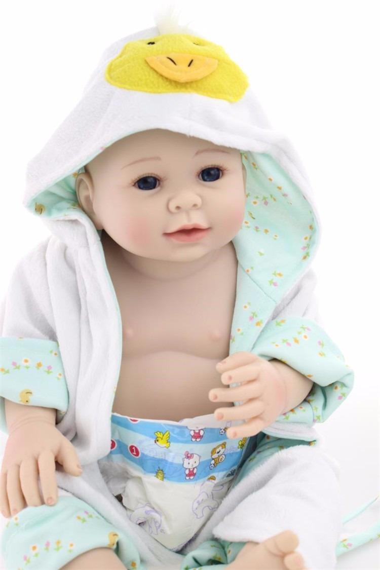 Bebe Reborn 100% Silicone Menino 50cm Frete Grátis-2 - R ...