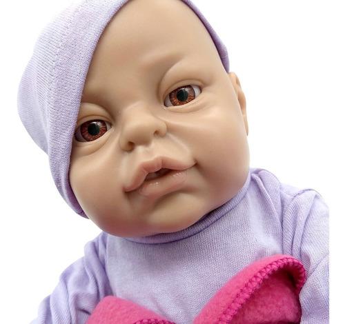 bebe reborn argentina bebote real + chupete osito y mantita