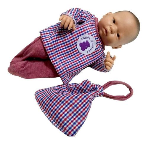 bebe reborn bebote mini primer bebito recien nacido +bolsita