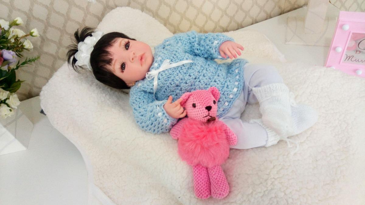 Amigurumi de Crochê Boneca Chloe 34 cm CORES | Arquitetas Express | 675x1200