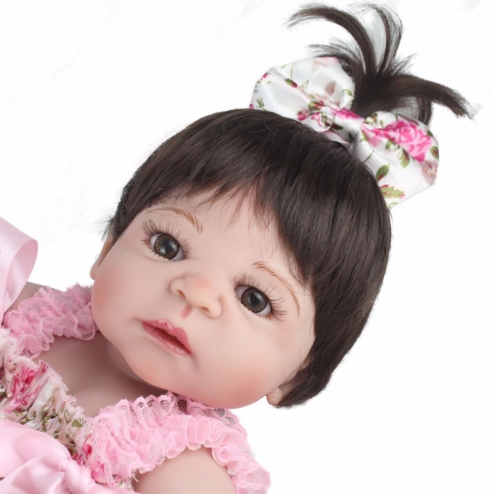 1248f75c37 bebe reborn boneca silicone menina realista frete gratis. Carregando zoom.