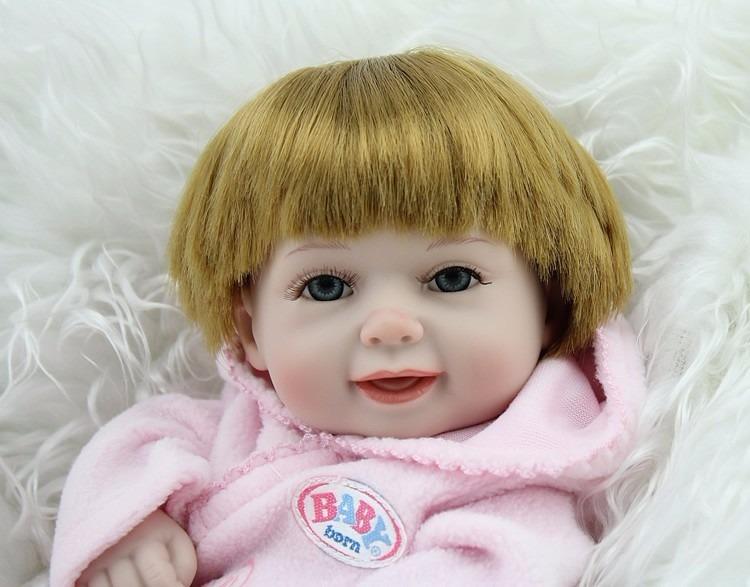 07429fc6c4 Bebe Reborn De 100 Reais Menina Boneca Realista Mais Barata - R  99 ...