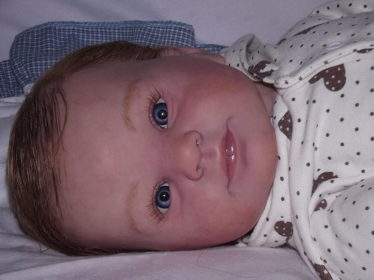 Bebe Reborn Hermosa Guerita Oferta - $ 4,500.00 en Mercado