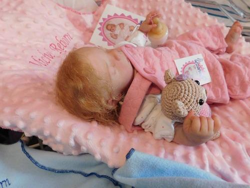 bebe reborn hiperrealista  similar a un prematuro meg