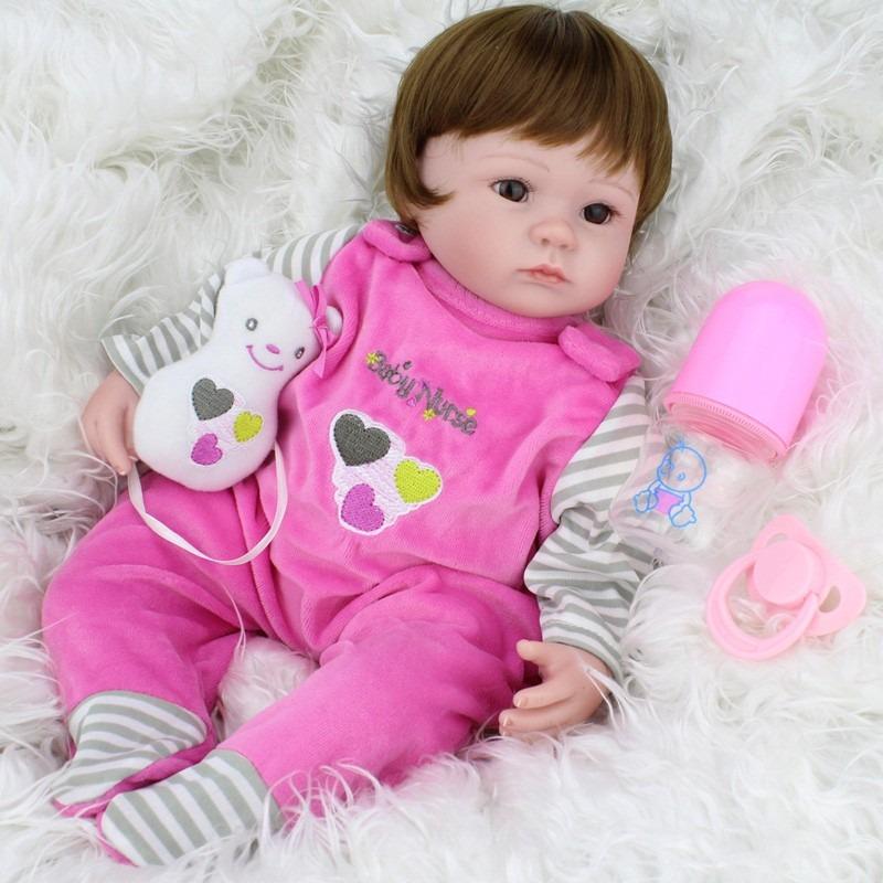 17eeb27b67 bebe reborn lbc boneca silicone menina realista. Carregando zoom.