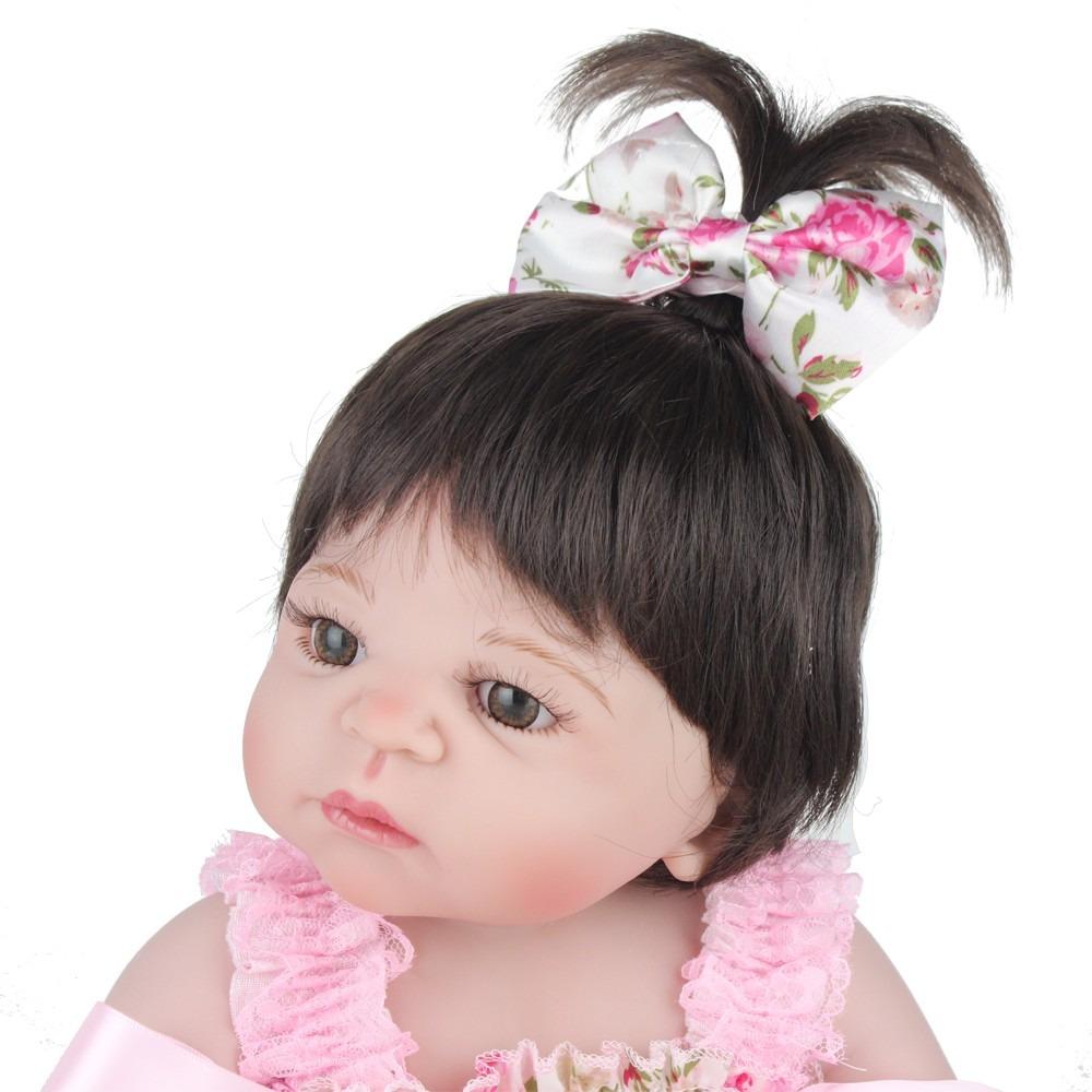 ae94449e85 bebe reborn lbc boneca silicone menina realista victoria. Carregando zoom.