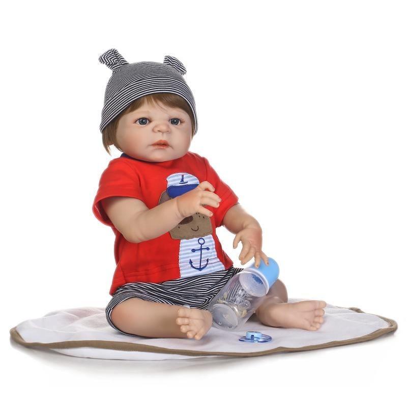 f0aaeb36f bebe reborn menino loiro corpo de silicone pronta entrega ! Carregando zoom.