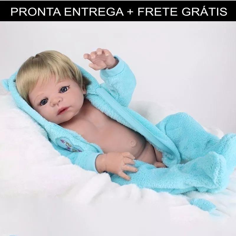 d96aed291 bebe reborn menino silicone barato realista - pronta entrega. Carregando  zoom.