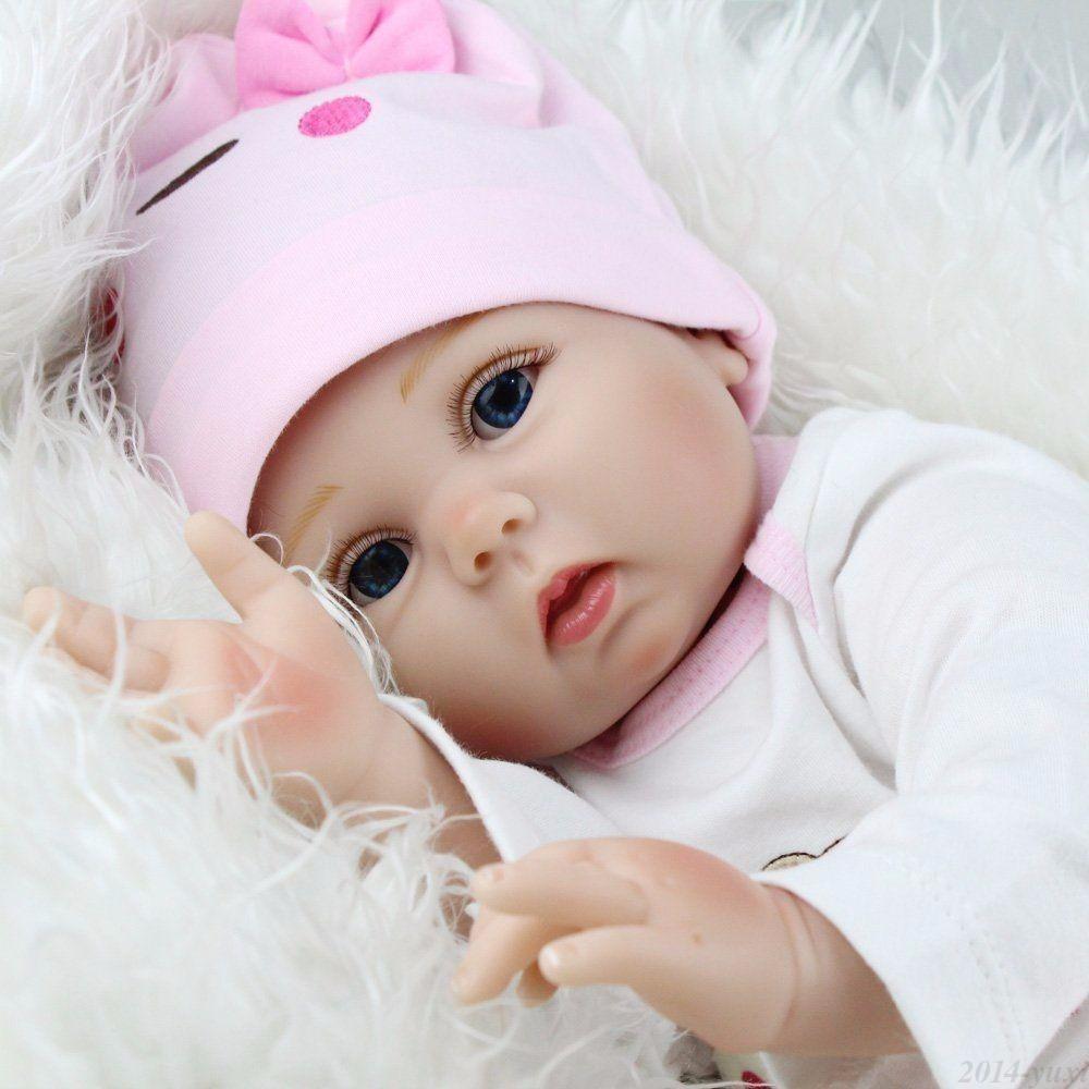 ff573aafc5b5c Muñeca Bebe Reborn Realista Silicona Niña Baby Doll 22 -   389.990 ...