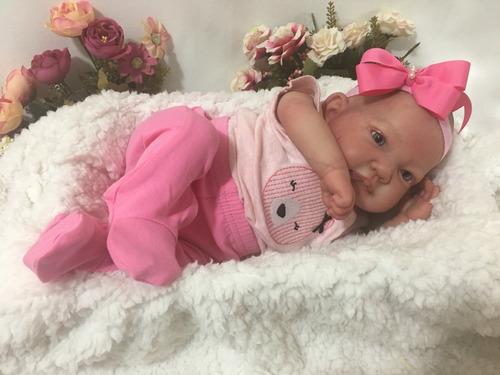 bebe reborn nacional 50cm