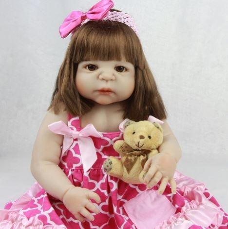 ee612bb90 Bebe Reborn Princesa 100% Silicone Promoção Frete Gratis M83 - R ...