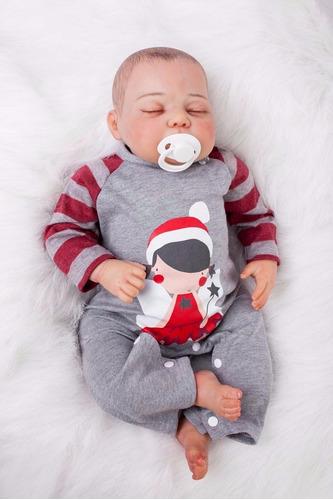 bebe reborn real com veias 50 cm r$ 795,00 boneca perfeita