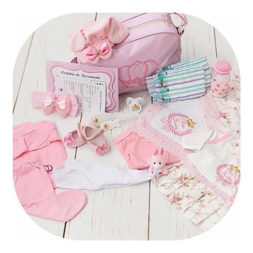 bebe reborn realista princesa membros silicone - bolsa luxo