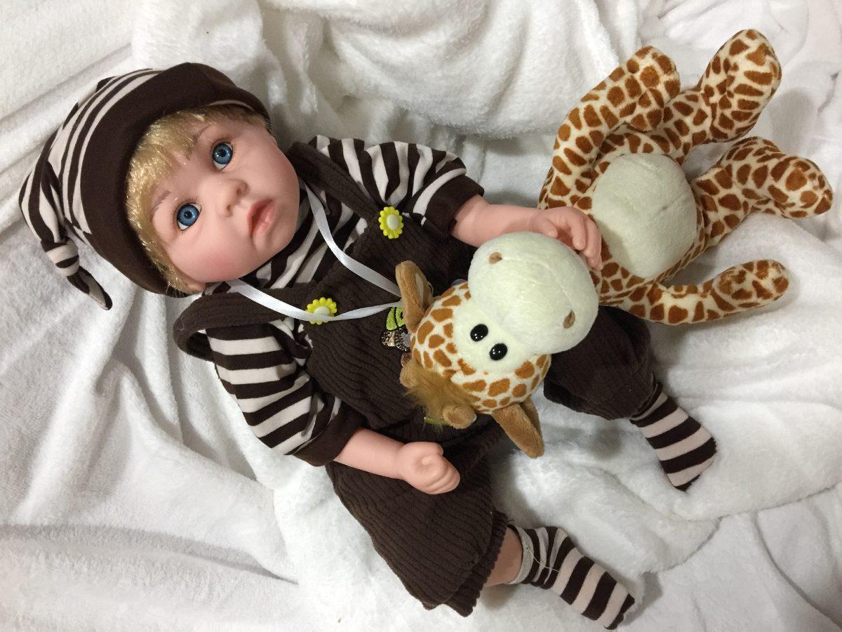 a028af4787 bebe reborn verdade real realista barato menino boneco luxo. Carregando  zoom.