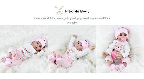 bebé recién nacida juguete adorable y suave baby girl rebo