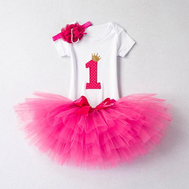 9028e5bc3a2c bebé recién nacido niña 1er cumpleaños tutu vestido traje. Cargando zoom.