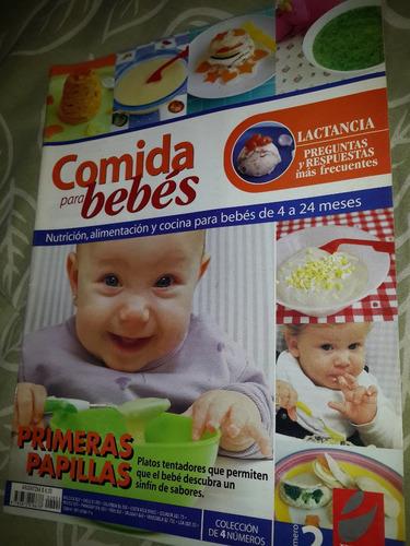 bebe - revistas lotex4 de comida para bebes 4/24 meses