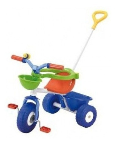 bebe triciclo blue metal 3075 rondi