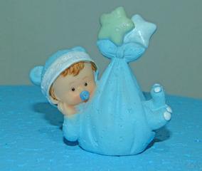 Recuerdos De Recien Nacido Varon.Bebe Varon Recien Nacido 8cm Baby Shower Bautismo X 1un