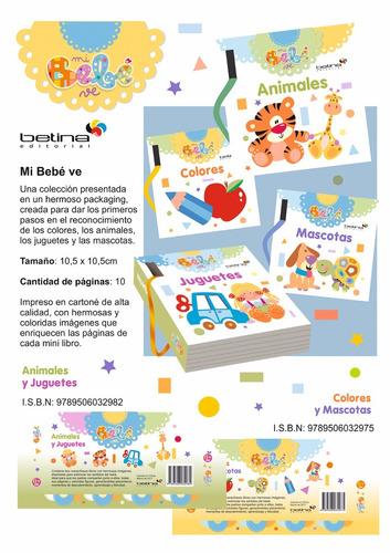 Bebé Ve Pack De 2 Libros Con Anillo Desmontable. Betina - $ 260,00 ...