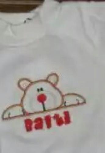 bebecrece, toallas ,pantalon , personalizados con nombre bb