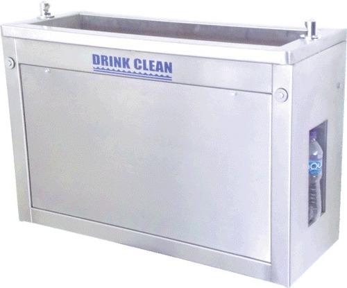 bebedero empotrable con sistema de purificación de agua