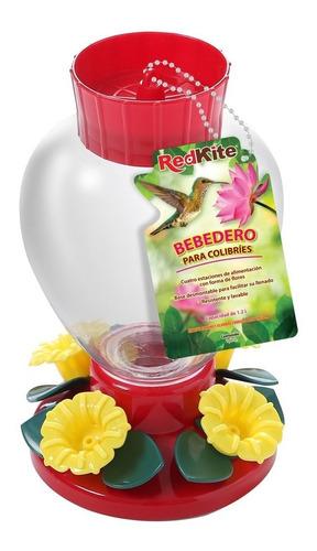 bebedero o alimentador comedero colibrí 1.2lts redkite 9239