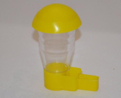 bebedero para canarios, aves mod. hongo chico  (7piezas)