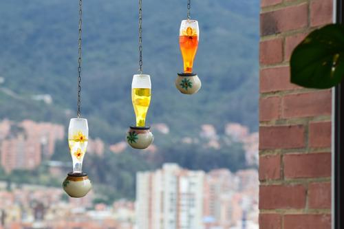 bebedero para colibríes