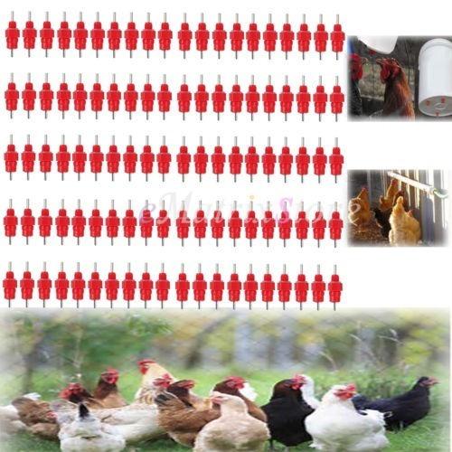 bebederos tipo niple pollos y aves x 100 entrega ya!