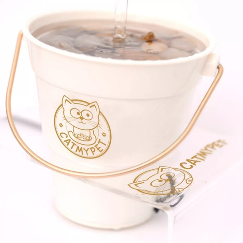 bebedouro fonte gatos torneira magicat c/ suporte 110v 220v