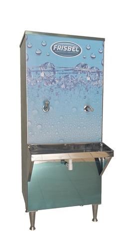 bebedouro industrial coluna 50l 1 torneira 1jt filtro gratis