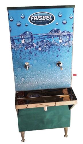bebedouro industrial inox coluna 50 litros - frete grátis