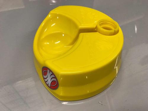 bebedouro inteligente cães/gatos water cat amarelo não fonte