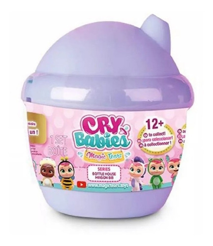 bebes llorones - cry babies magic tears bottle house