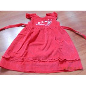 64d620f49 Vestido Corderoy Bebe - Ropa y Accesorios Rojo en Mercado Libre ...