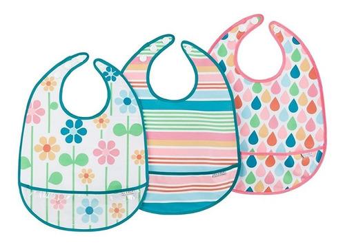 bebes pack baberos x3 para comer jj cole petit baby