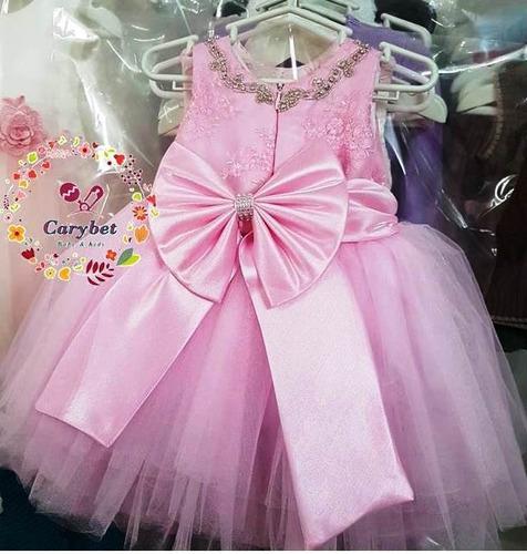 bebés y niñas vestidos de fiesta