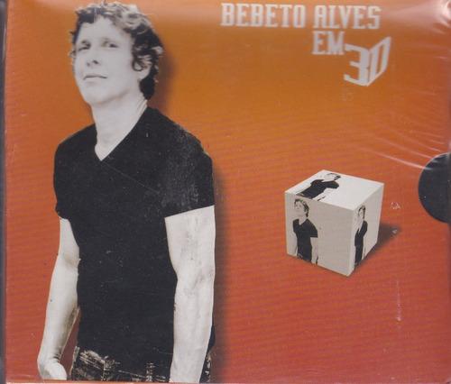 bebeto alves - cd em 3d - 3 álbuns - 2010 - lacrado