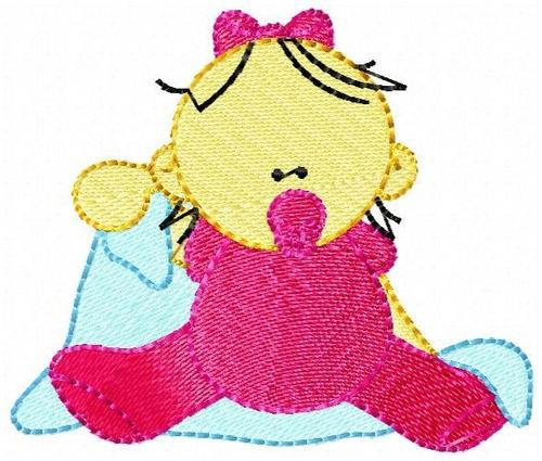 bebezinho cobertor - coleção de matriz de bordado
