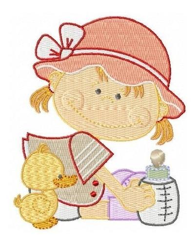 bebezinhos legais - coleção de matriz de bordado