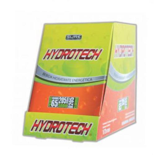bebida hidratante y energetica hydrotech - caja por 12 sobre