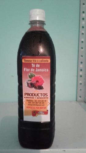 bebida natural. prop: adelgasar y para limp sistema digestiv