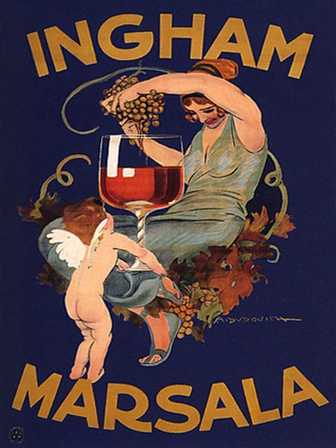 bebida vinho mulher uva anjo taça poster repro