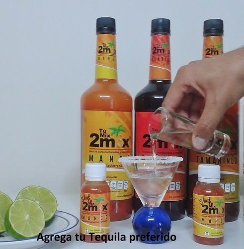 bebidas para hacer micheladas, cocteles y smoothies ( 1 lt )