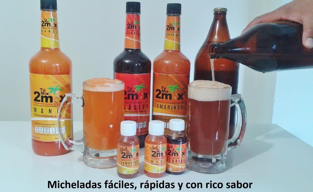 Bebidas Para Hacer Micheladas Cocteles Y Smoothies 1 Lt