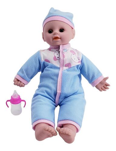 bebote bebe con chupete  sonido y accesorios muñeca juguete